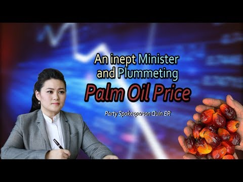 An inept Minister and plummeting palm oil prices