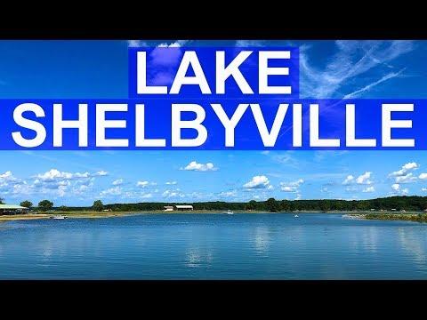 Having Fun At Lake Shelbyville Beach + Lithia Springs Marina & Fishing + Lithia Springs Campground