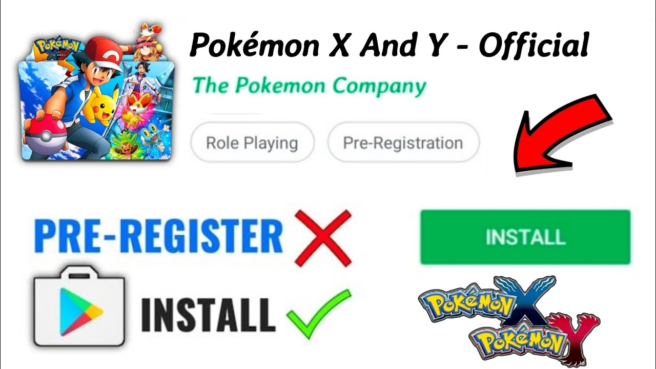 [NEW] Pokémon X and Y Game Download On Android | APK DATA | 2020 Edition New Features!