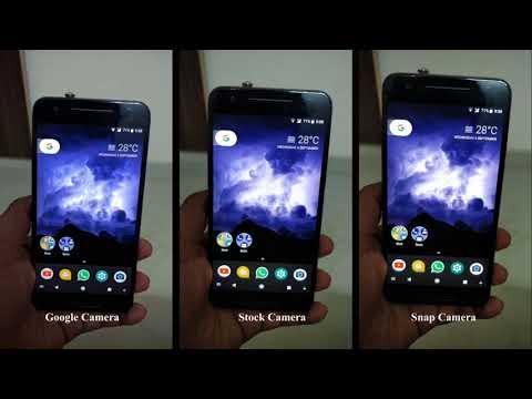 LineageOS Snap Camera vs Google Camera vs Stock Camera app (OnePlus 5)  Comparison
