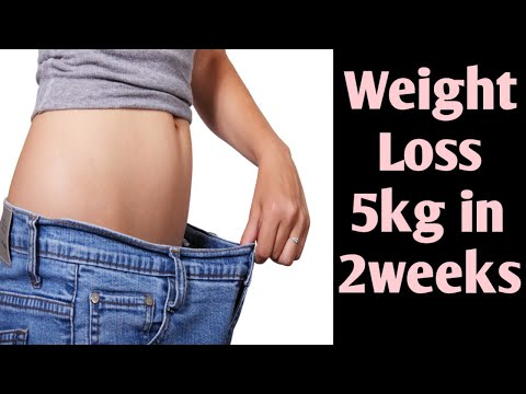Weight loss 5kg in 2 weeks at home,without exercise,without dieting