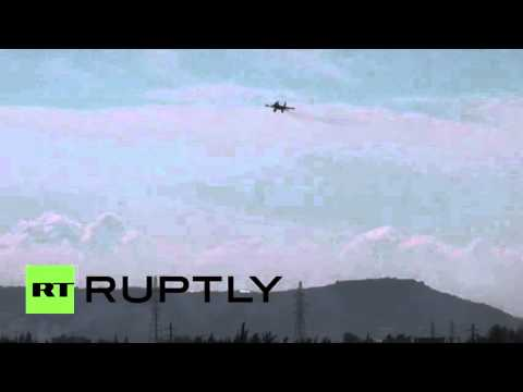 Syria: Russian Sukhoi jets set off to target militant positions from Hmeymim