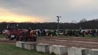 James white Minneapolis moline tractor pull