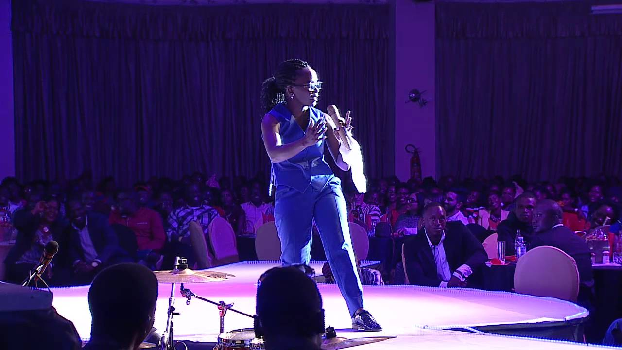 Kansiime can surely dance. #iamkansiime show. Kansiime Anne. African comedy.