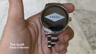 The Best Smartwatch Ever? |Fossil Q Marshal Review|The Audit.