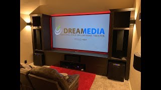 "AWESOME SETUP + DEMO!! Dolby Atmos 7.2.4 Theater w/ SI 125"" Slate 1.2, Sony 295, & SVS Subs!"
