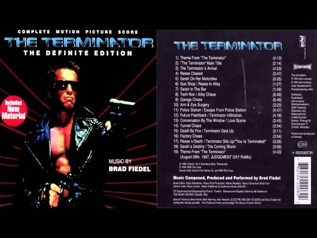 3. The Terminator [Complete Motion Picture Score]