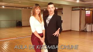 Aula #1 Kizomba  - Bases  com TiagoAlex & Maya