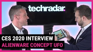 Dell Alienware Concept UFO interview | TechRadar at CES 2020
