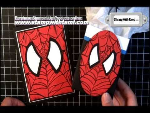 Spiderman Cards & Box Favors YouTube