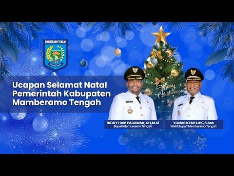 Ucapan Natal Pemerintah Kabupaten Mamberamo Tengah