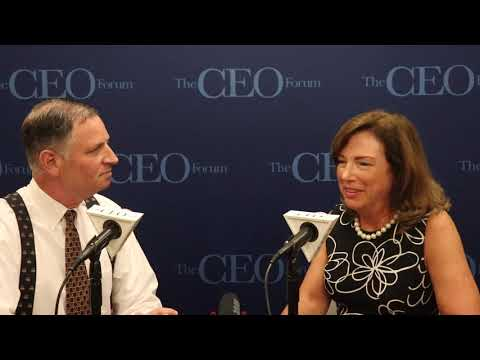 CEO FORUM W/BARBARA HUMPTON, CEO, SIEMENS U.S.