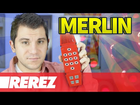 First Multi-game Handheld Ever: Merlin, The Electronic Wizard - Rare Obscure Or Retro - Rerez
