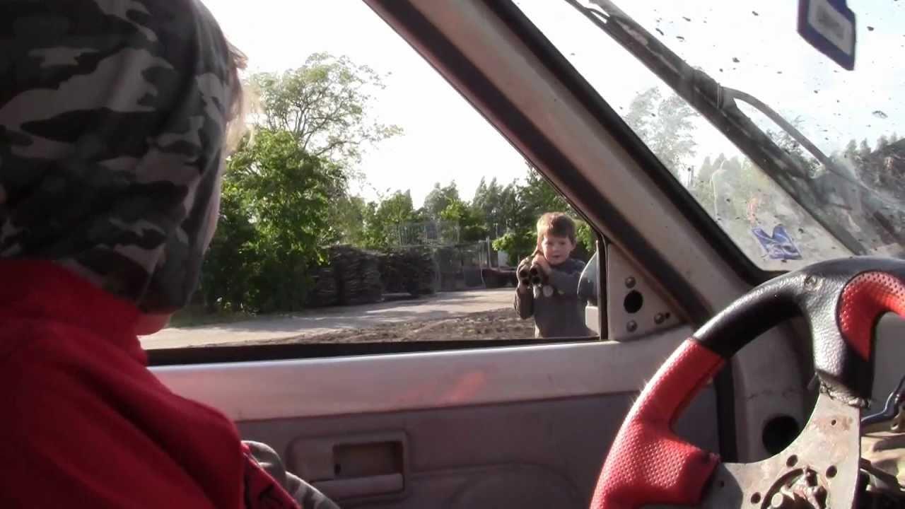 9 Year Old Driver Handbrake Turning