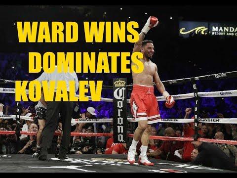 Andre Ward Defeats Kovalev #boxingnews