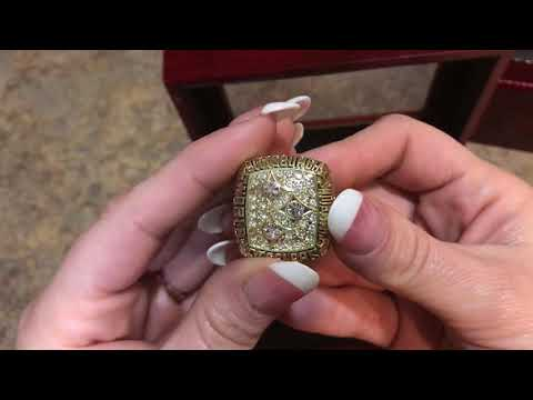 Pittsburgh Steelers Super Bowl Championship Ring Set