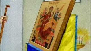 Икона Божией Матери 'Всецарица'.avi