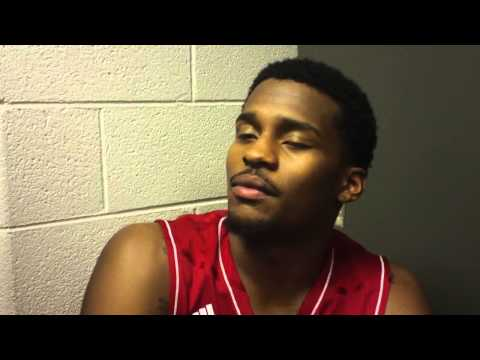 Stanford Robinson reacts to loss to Maryland