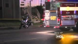 Repeat youtube video Cop Hits Little Girl With Motorcycle Then Shoots and Kills Angry Dad