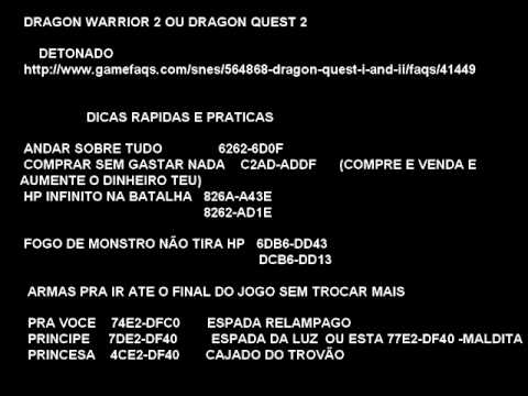 <b>Dragon Warrior</b> 3 Nes <b>Game Genie Codes</b> - bsstaff