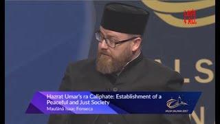 Hazrat Umar's Calliphate:   Maulana Isaaq Fonseca Sahib Jalsa Canada 2017 Day 2