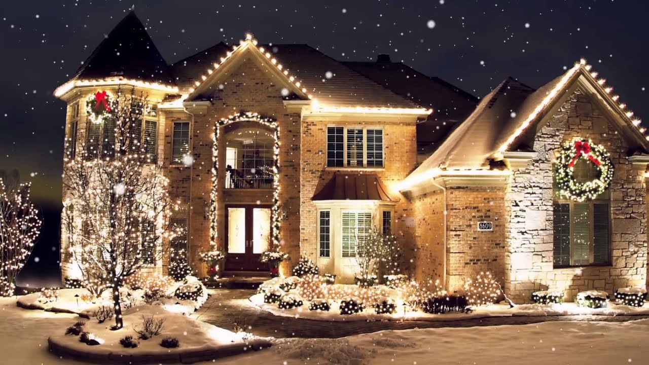 Christmas lights installation installers contractors - Haus weihnachtlich dekorieren ...