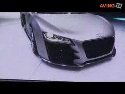 NAIAS 2008 Audi reveals R8 V12 TDI Concept car