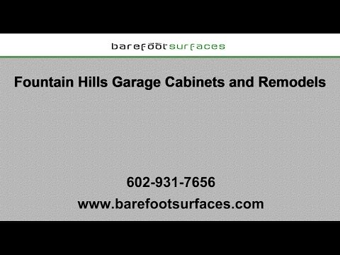 Fountain Hills Garage Cabinets and Remodels | Barefoot Surfaces