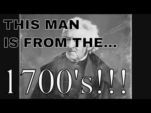 Tech Before Its Time: ACTUAL Photo Of Man Born In THE 1700's!!! AND American Anthem!