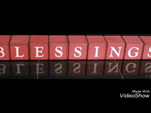 Blessings by laura story minus one