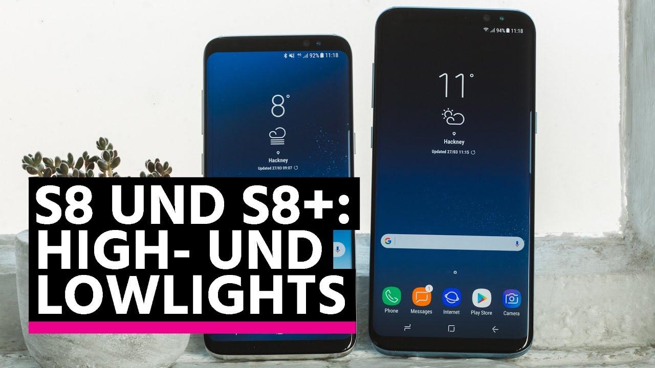Samsung Galaxy S8/S8+: Stärken und Schwächen - YouTube