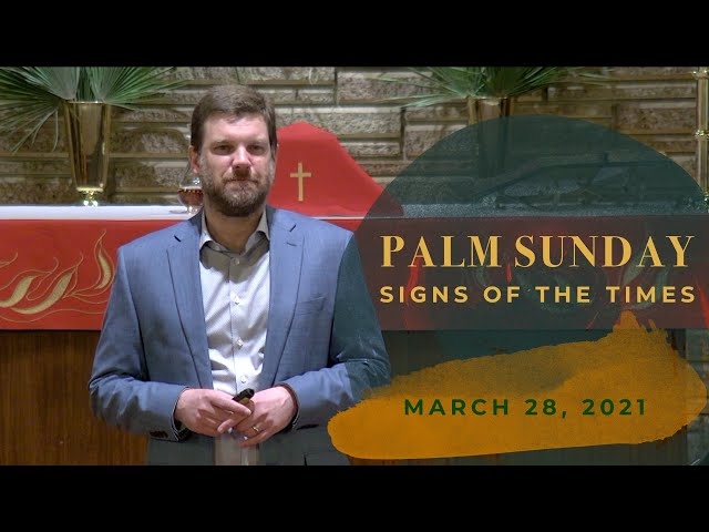 Palm Sunday: Signs of the Times