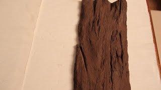 DIY jak zrobic deskę ze styropianu ( faux wood)