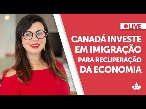 2021: Canadá investe em imigração para recuperação da economia
