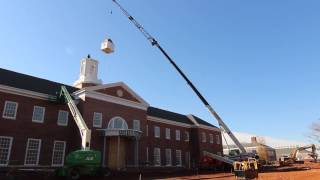 New Inman Admissions Welcome Center Topped With Cupola