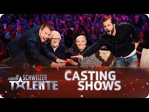 Die grössten Schweizer Talente - 2. Castingshow - #srfdgst