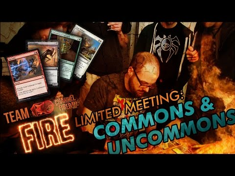 Team CFB Fire Limited Meeting: Commons and Uncommons