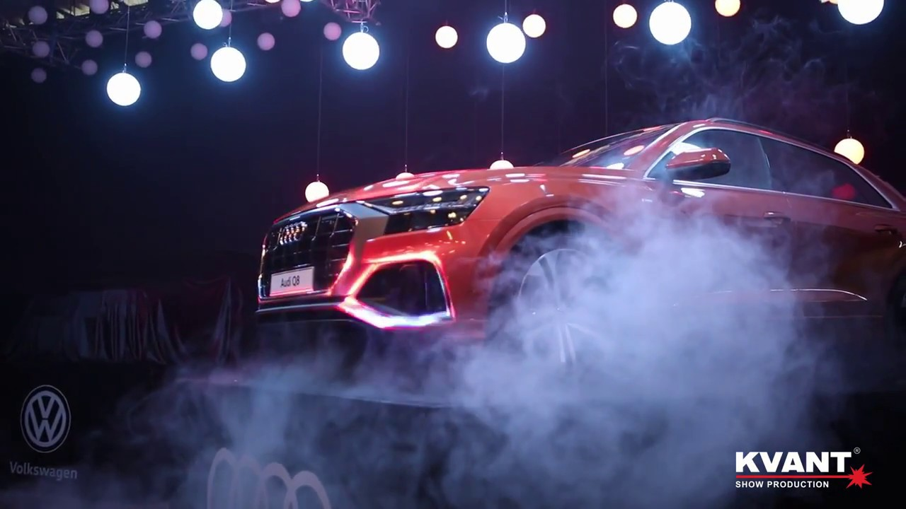 Kvant Laser Multimedia Show für VW, Audi und Porsche