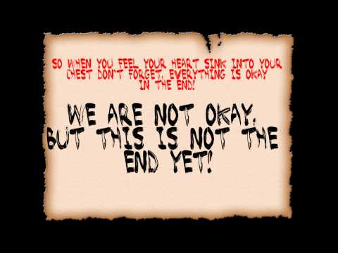 The Color Morale- Strange Comfort (Lyrics)