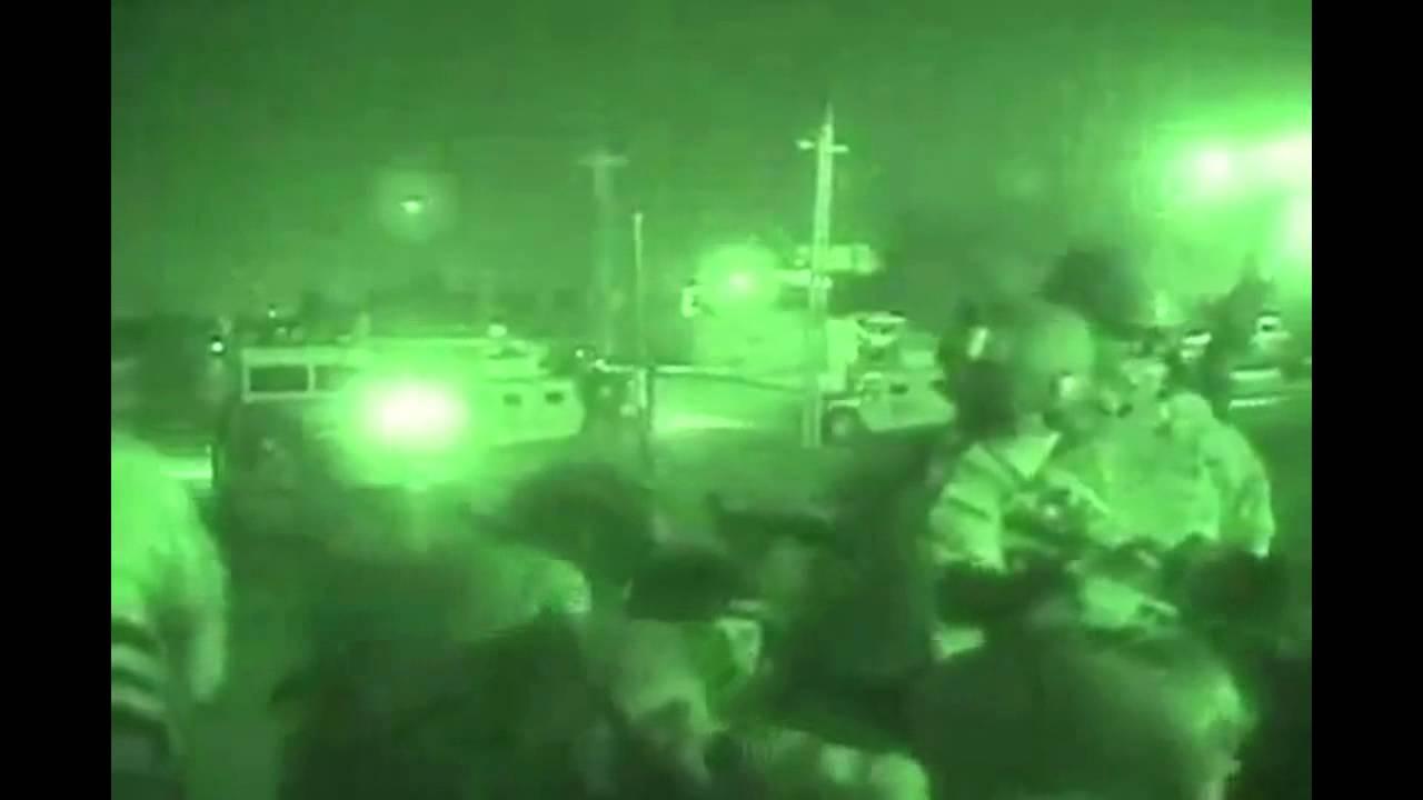 Heavy Firefight At Night In Iraq Funnydog Tv