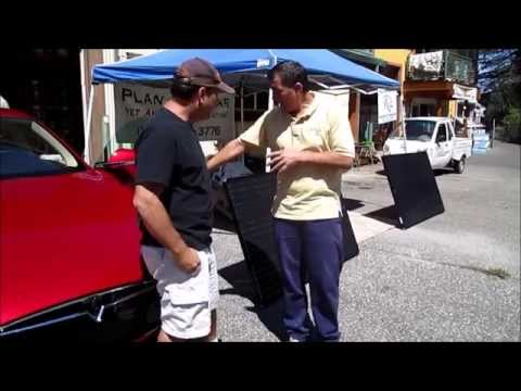 Off Grid Solar Electric Vehicle Charging Station