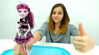 Видео для девочек - Монстер Хай ходит по воде
