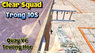 PUBG Mobile | Quay Lại Trường Học Solo Squad - TuấnHC Clear Squad Trong 10s