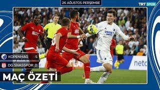 UEFA Konferans Ligi | Kopenhag - Sivasspor (Özet)