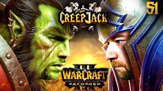 Florentin kämpft sich durch die Liga   Creepjack - Warcraft 3 Reforged #51 mit Florentin