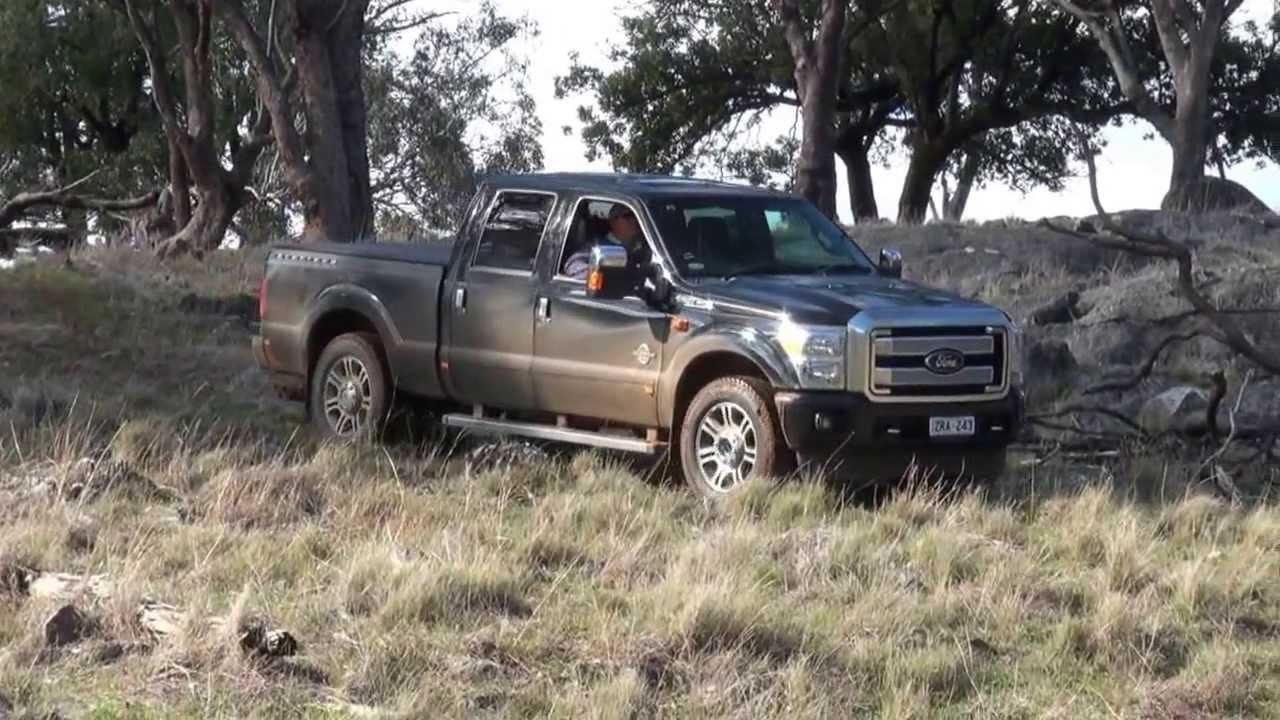 Ford F250 Superduty Platinum 4x4 Rob Fraser Reviews - YouTube