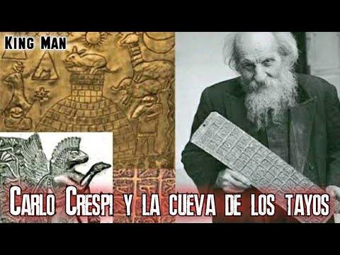 La Cueva de los Tayos, El padre Carlos Crespi y sus artefactos extraterrestres