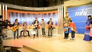 Genji buskers ft Tegar -  Aku yang dulu bukanlah yang sekarang (behind the scene) MHI