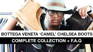 Bottega Veneta Camel Chelsea Boots - Complete Collection + F.A.Q
