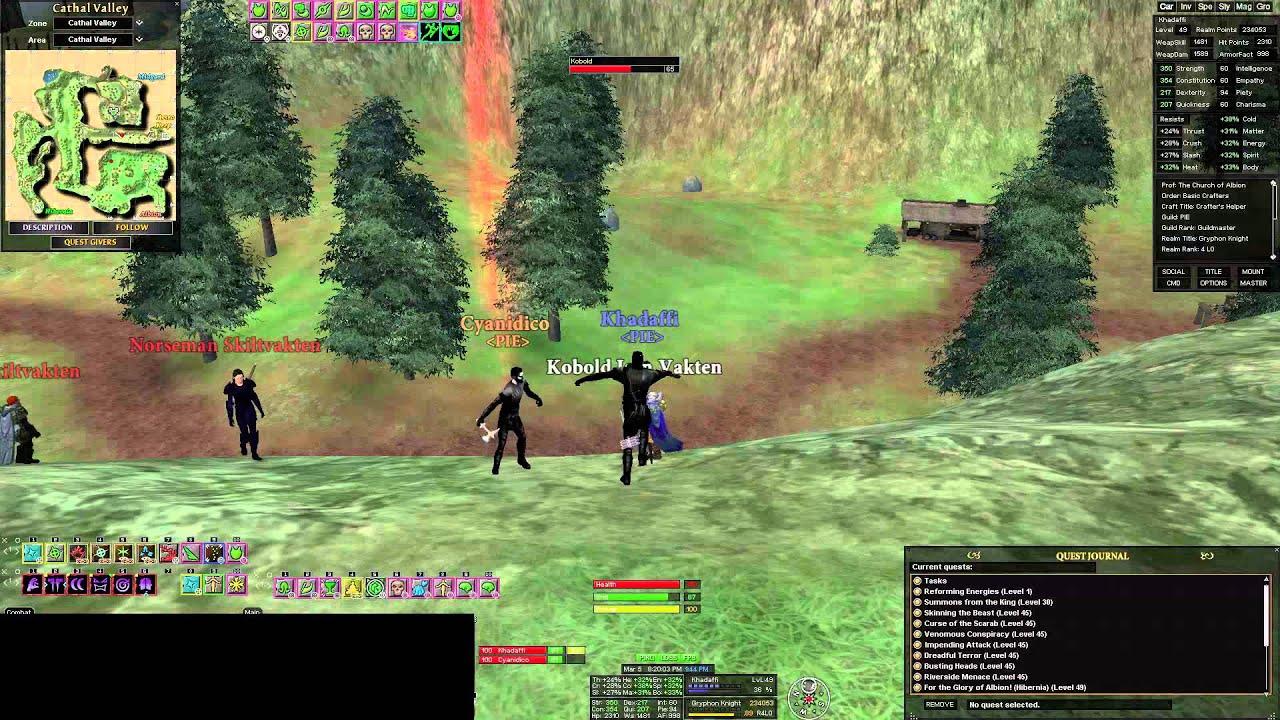 paladin & armsman CV duo - YouTube